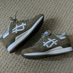 Olive Sneakers White 3 Lyte Retro Asics Gel Green YgvImf76yb